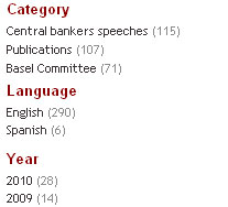 Filter by category, language and year